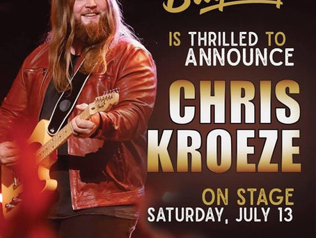 Chris Kroeze to Headline Bay Days