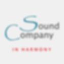 Script -grey-on-off--white -Sound Compan