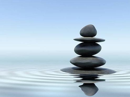 Stack of stones.