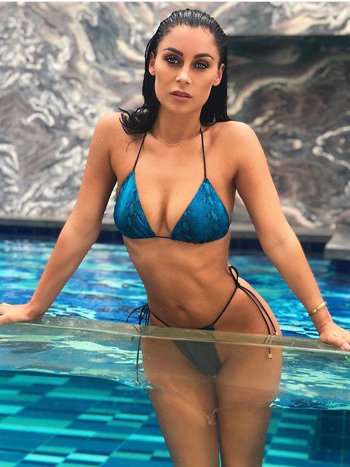 Alisa Top- Blue