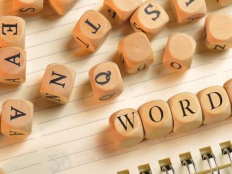 CHOICE WORDS!