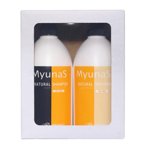 Reina Company Munas Natural Shampoo & Treatment Set OR (Orange)