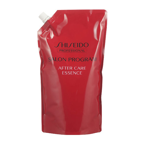 Shiseido salon program, aftercare essence, review 1kg.