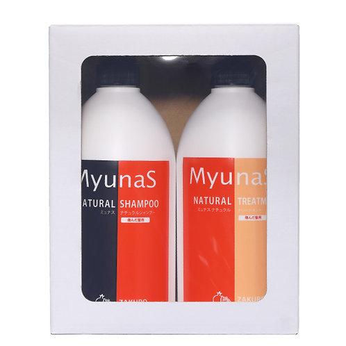 Reina company Myunas national shampoo & treatment set ZA