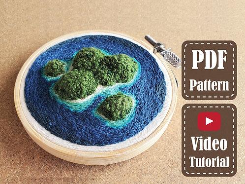 My Private Island | PDF Pattern | Video Tutorial