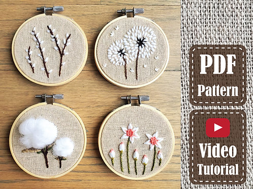 The Blossoming Set | PDF Pattern | Video Tutorial