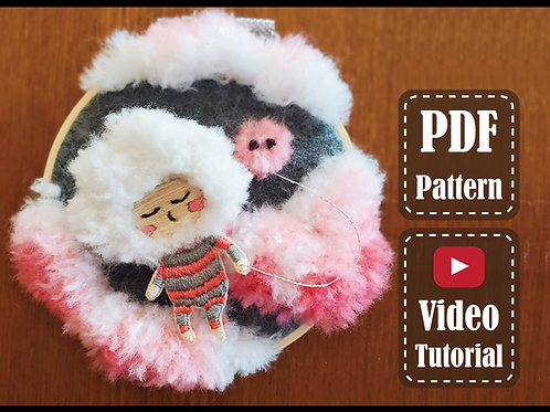 The Cloud Fairy | PDF Pattern | Video Tutorial
