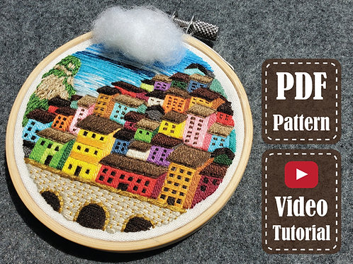 The Color of The City | PDF Pattern | Video Tutorial