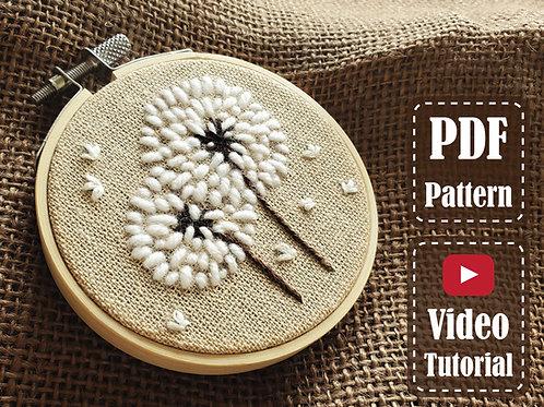The Dandelion | PDF Pattern | Video Tutorial