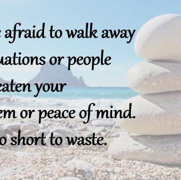 Why Sometimes It Is Okay To Walk Away