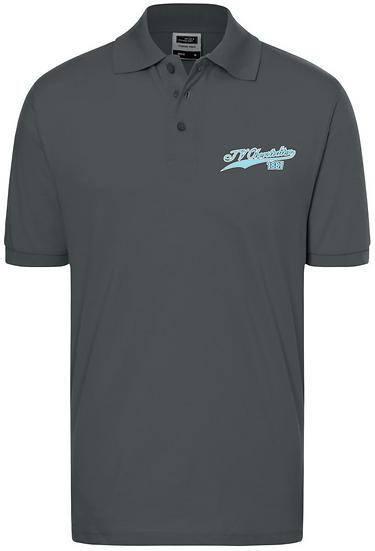 Retro Polo Shirt Herren