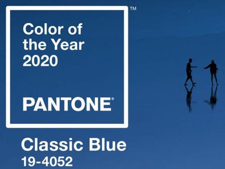 Die Farbe des Jahres 2020 - Classic Blue 19-4052