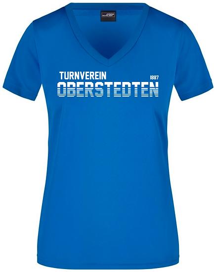 Modern Sport V-Shirt Damen