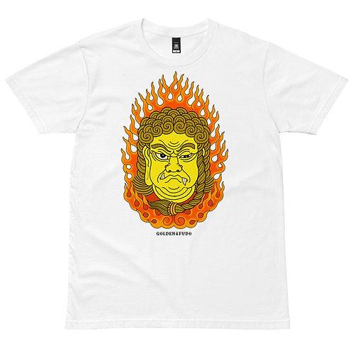 GOLDEN FUDO T-shirt white