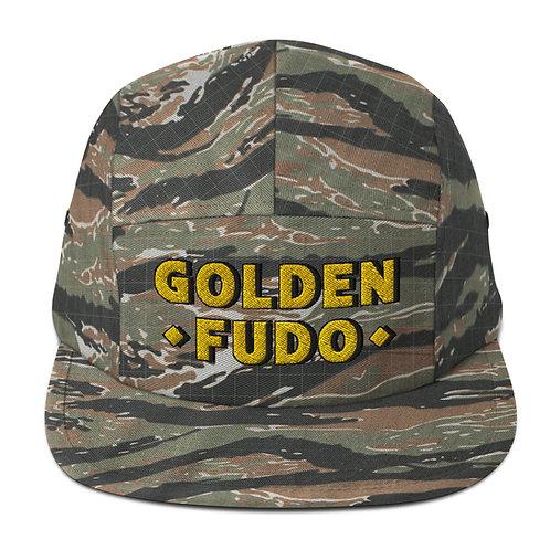 GOLDEN FUDO-Five Panel Cap