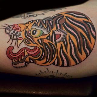 Japanese Tiger on bicep