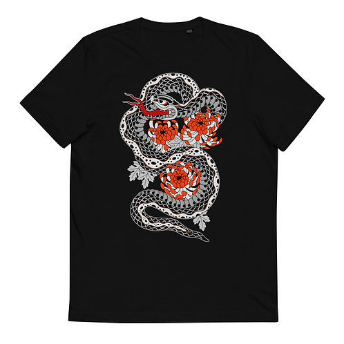 SNAKE Organic Cotton T-Shirt