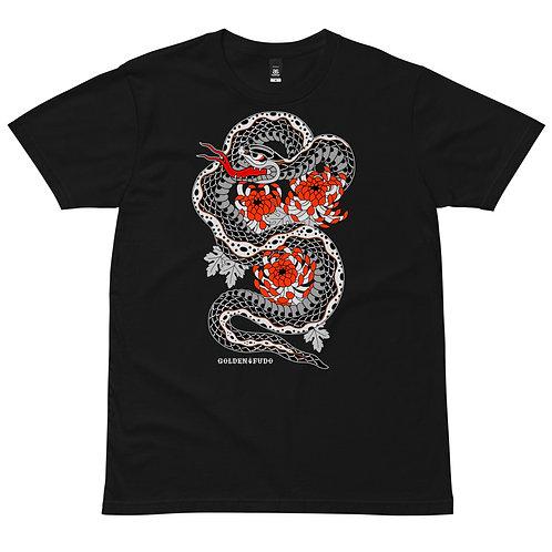 SNAKE T-shirt black