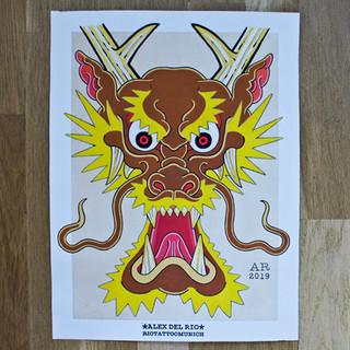 'Dragon head 3'