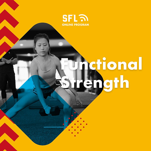 Online Program: Functional Strength