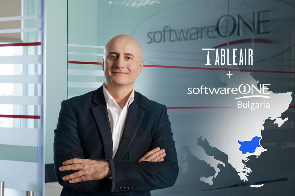 SoftwareOne, TableAir, Stoian Lilov, Bulgaria