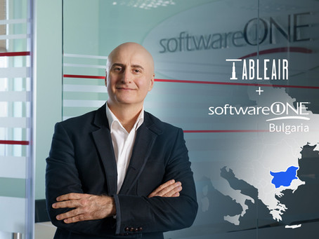 TableAir smart workplace solutions in Bulgaria