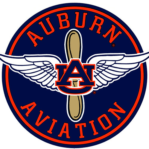 Auburn Aviation Decal