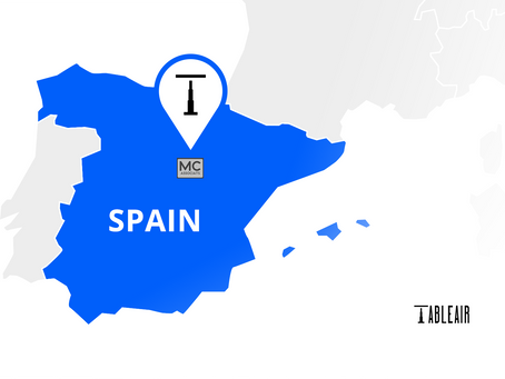 TableAir goes Spain with safe workplace solutions