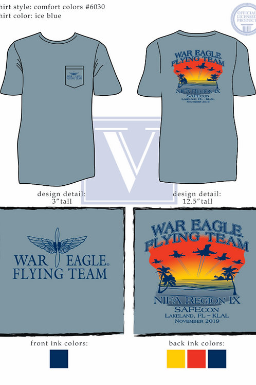 Regionals 2019 T-Shirt - Blue