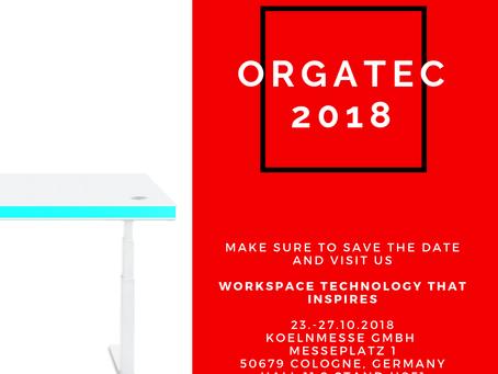 Let's meet at Orgatec 2018