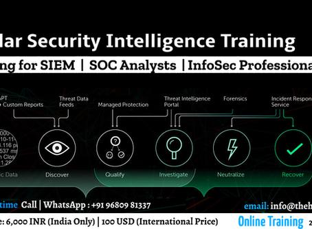 QRadar Security Intelligence Training for Blue Team Professionals