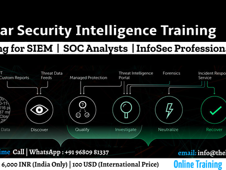 QRadar Security Intelligence Training for Blue Team Professionals