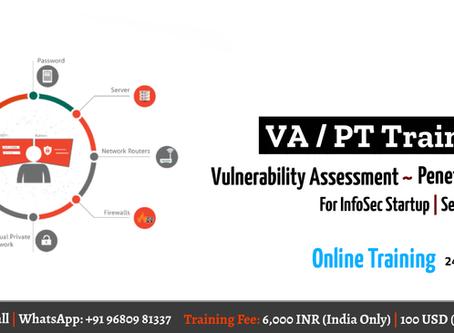 Vulnerability Assessment and Penetration Testing Training