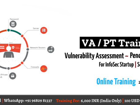 Vulnerability Assessment and Penetration Testing Training