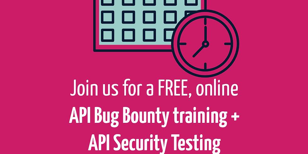 API Bug Bounty and API Security Testing Webinar