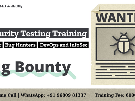 API Bug Bounty and API Security Testing Training