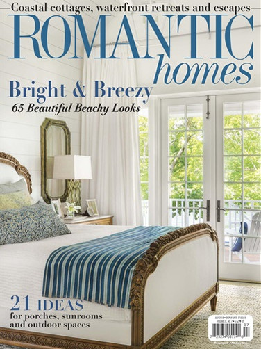 ROMANTIC HOMES COVER JULY 2018
