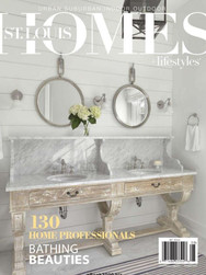 ST. LOUIS HOMES + LIFESTYLES COVER AUGUST 2017