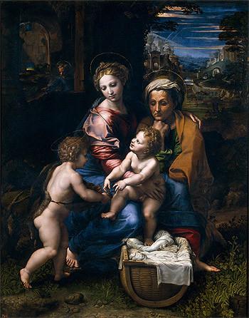 La Perla, Raphael, c. 1519-20, Oil, Museo del Prado, Madrid