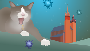 Polish cats 'Off Duty' during current pandemic