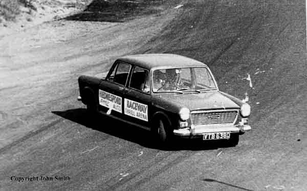 The Hednesford's Push Me- Pull You car