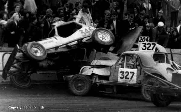 Typical Belle Vue action