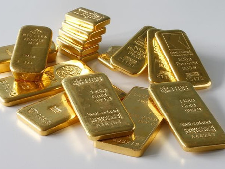 Gold Down Over Signs of Some Economic Recovery