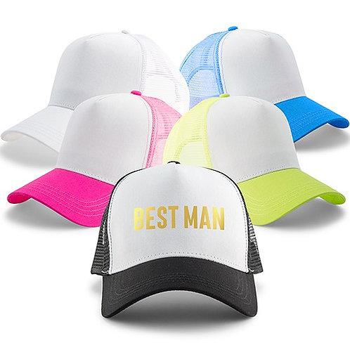 Groomsman Caps