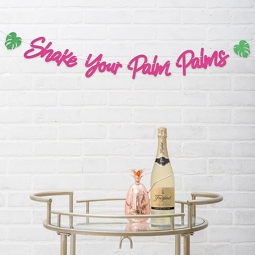 Party Banner - Shake Your Palm Palms