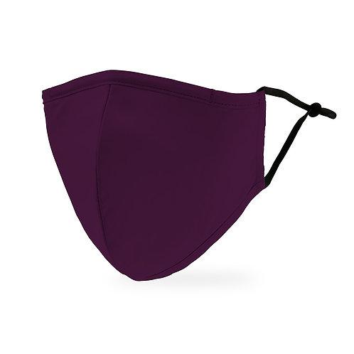 Dark Purple solid Mask Child