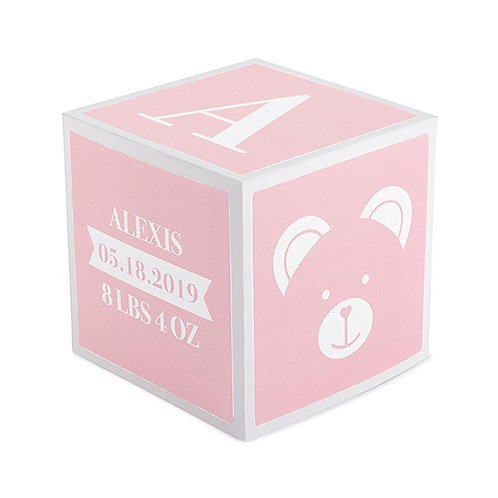 Pink Keepsake Block