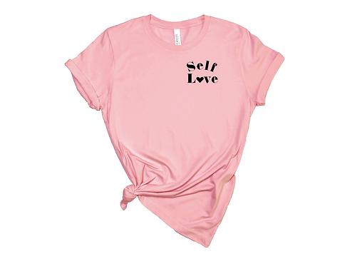 Self Love Pink Top