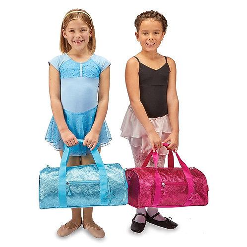 Kids Glitter Duffle Bag