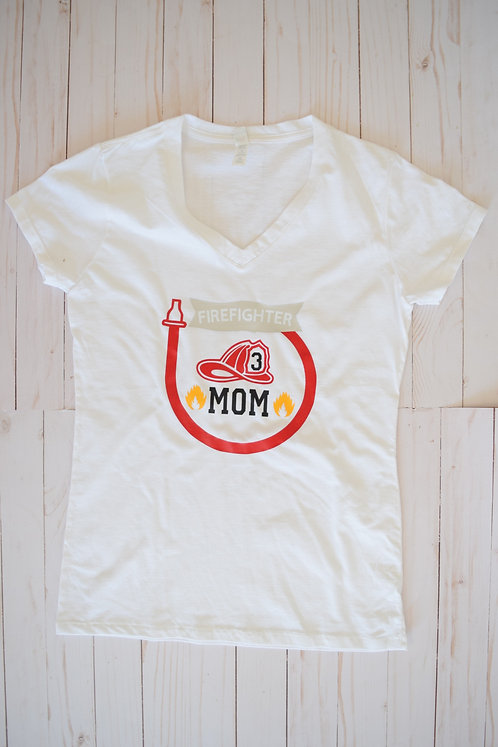 Fired Up Tshirt Mom